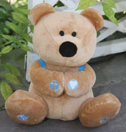 Plush Prayer Bear Bible toys and games