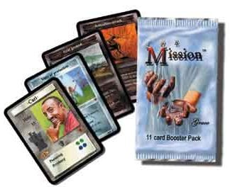 The Mission Card Game by Cactus Game design booster pack