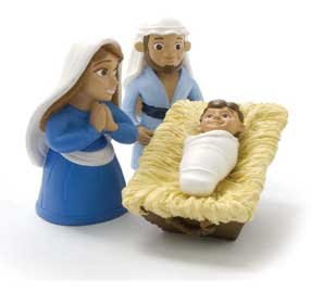Mary Joseph Jesus action figure bible toys and games