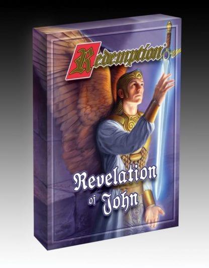 Redemption card game Revelation of John box